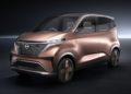 NIssan all electric mini vehicle