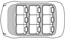 9 seater car seat layout
